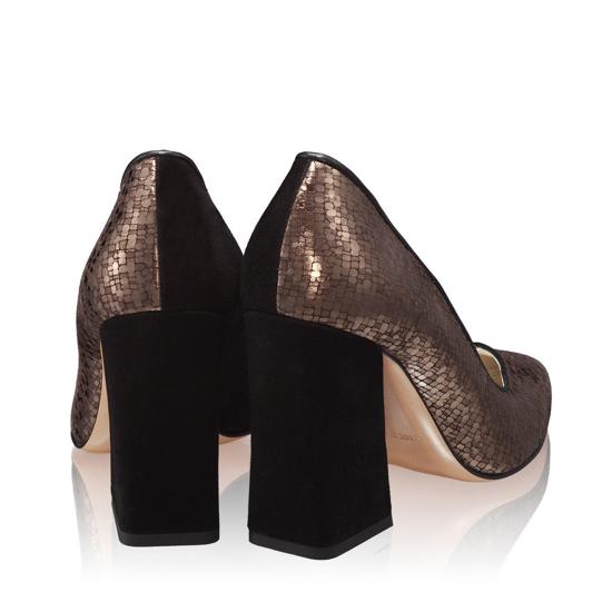 Pantofi Eleganti Dama Betty Camoscio Domino F3