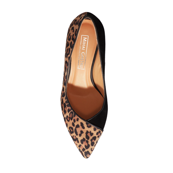 Pantofi Eleganti Dama Betty Animal Print 02 F4