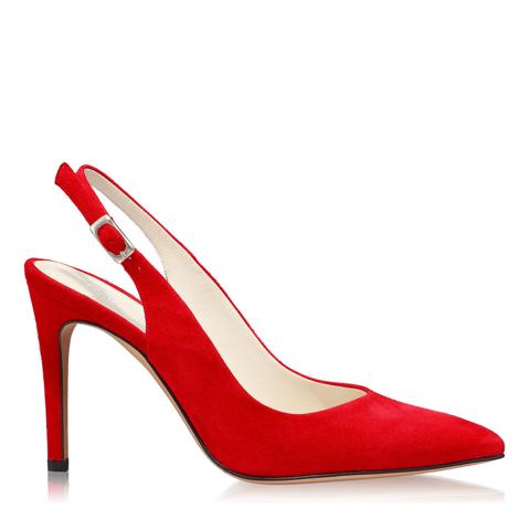 Pantofi Eleganti Dama Candy Rosu F1