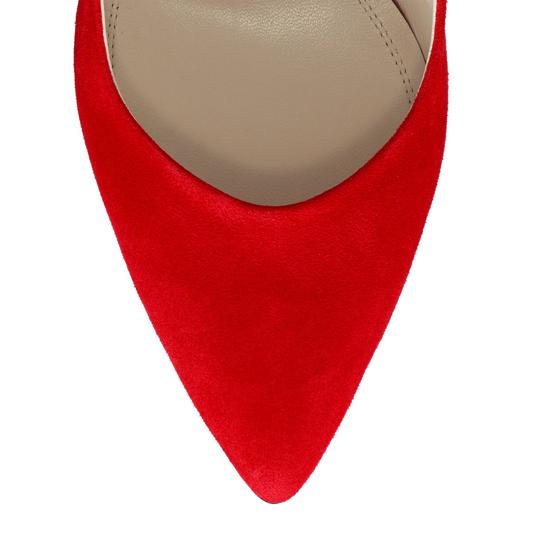 Pantofi Eleganti Dama Candy Rosu F5