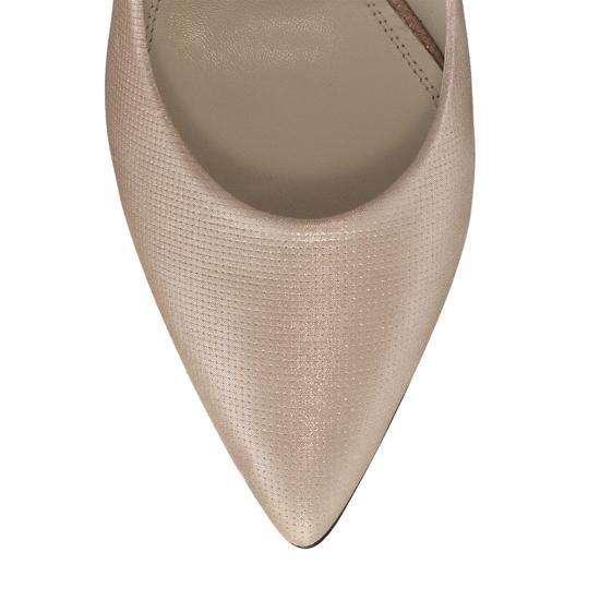Pantofi Eleganti Dama Anne Nude Oro F5