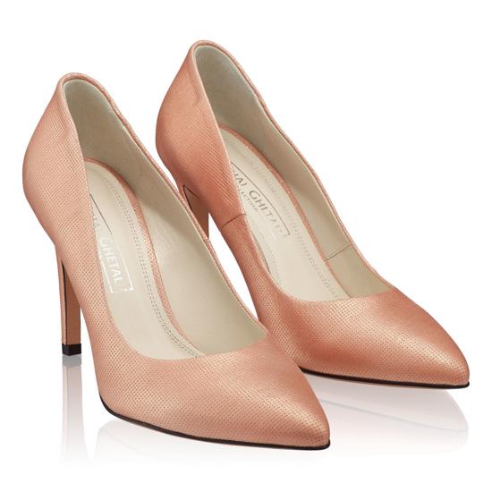 Pantofi Eleganti Dama Anne Roz Oro F2
