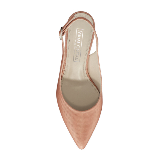 Pantofi Eleganti Dama Candy Roz Oro F4