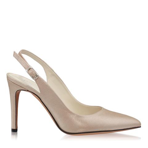 Pantofi Eleganti Dama Candy Nude Oro F1
