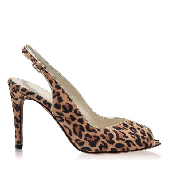 Sandale Elegante Dama Amy Animal Print Lynx F1