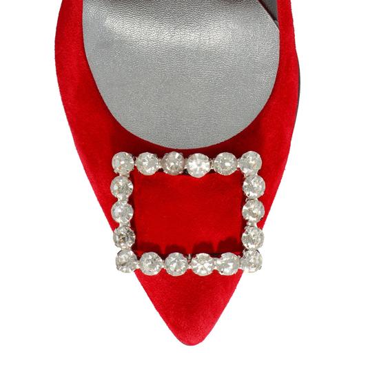 Pantofi Eleganti Dama Anne Rosu F5