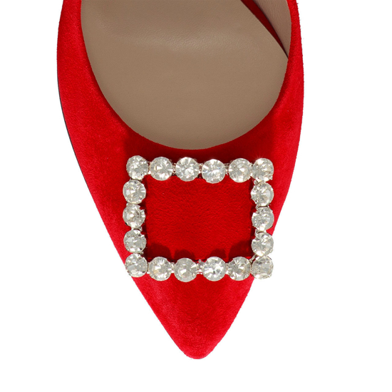 Pantofi Eleganti Dama Anne Rosu 02 F5