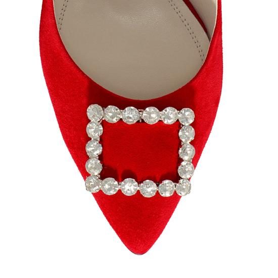 Pantofi Eleganti Dama Candy Rosu 03 F5