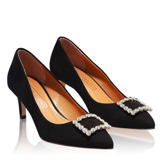 Pantofi Eleganti Dama Anne Negru 03 F2