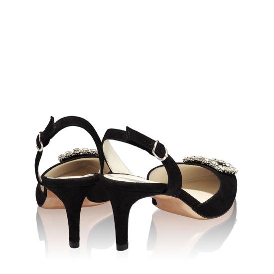 Sandale Elegante Dama Camy Negru 02 F3