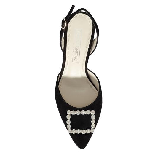 Sandale Elegante Dama Camy Negru 02 F4