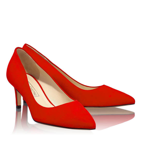 Pantofi Eleganti Dama Anne Rosu 03 F2