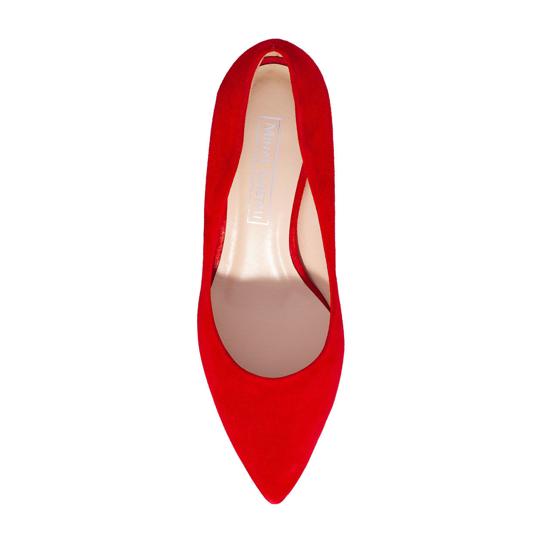 Pantofi Eleganti Dama Anne Rosu 03 F4