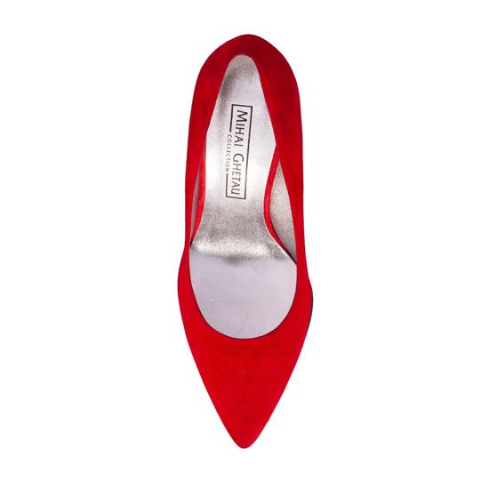 Pantofi Eleganti Dama Anne Rosu 04 F4