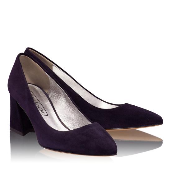 Pantofi Eleganti Dama Anne Blue 04 F2
