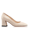 Pantofi Eleganti Dama Anne Gri Oro F1