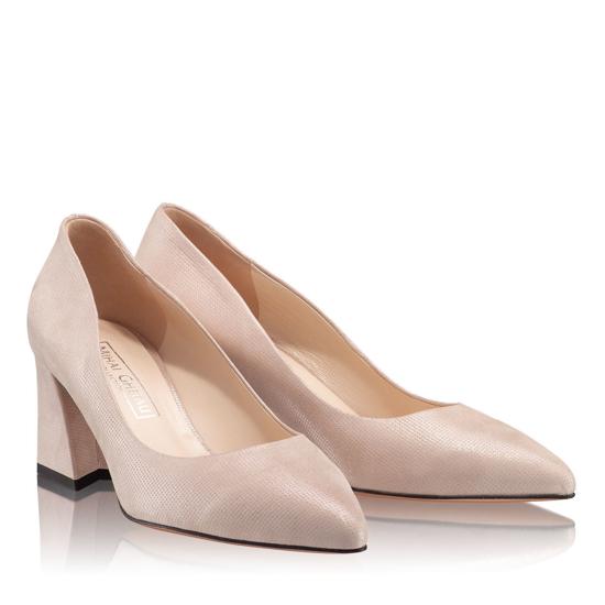 Pantofi Eleganti Dama Anne Nude Oro 03 F2