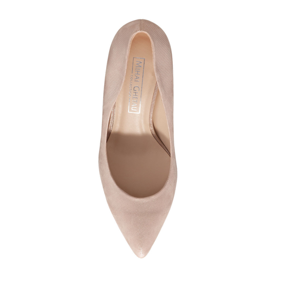 Pantofi Eleganti Dama Anne Nude Oro 03 F4