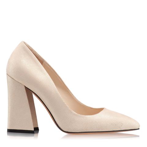 Pantofi Eleganti Dama Anne Gri Oro 02 F1