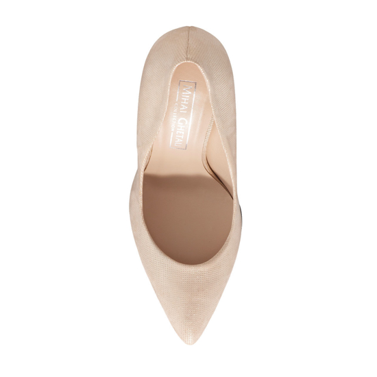 Pantofi Eleganti Dama Anne Gri Oro 02 F4