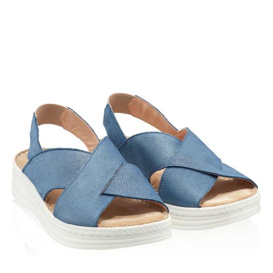 Imagine Sandale Dama Confort Xenia Blue Sky