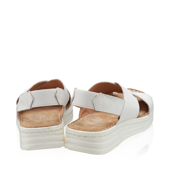 Imagine Sandale Dama Confort Xenia Alb 02